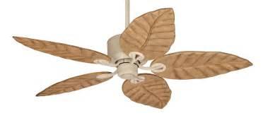 hunter coronado tropical leaf ceiling fan 28537 in sand