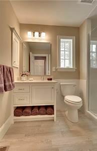 Carrelage Salle De Bain Blanc : le carrelage beige pour salle de bain 54 photos de ~ Melissatoandfro.com Idées de Décoration