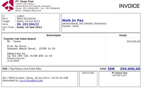 contoh invoice studio design gallery best design