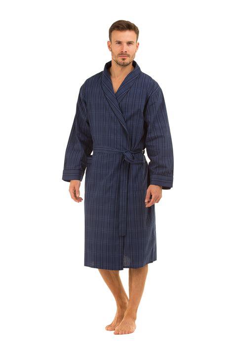 robe de chambre hommes haigman 39 s cotton dressing gown bath robe kimono