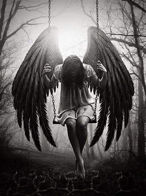 Best 25+ Fallen Angel Tattoo Ideas Only On Pinterest Sad