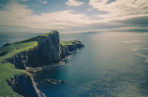 landscape, Nature, Water, Cliff, Clouds, Path, Stones ...