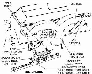 327 Engine - Diagram View