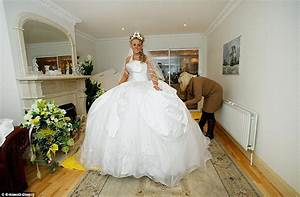 bride designs her own gbp6000 dress at the 39big fat gypsy With fat wedding dress