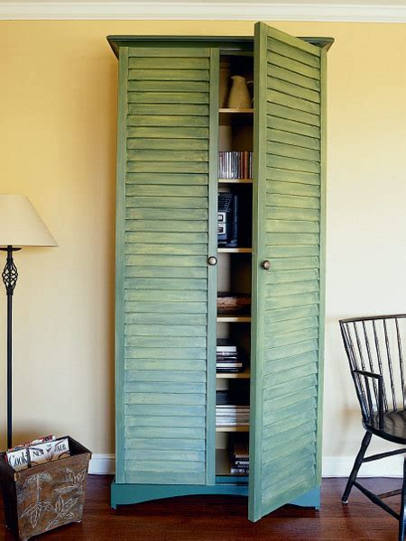 8 Creative Ways to Use Old Shutters   Louvered shutters