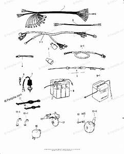 Kawasaki Motorcycle 1971 Oem Parts Diagram For Chassis
