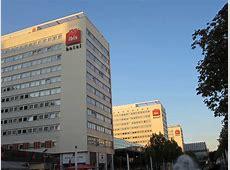The three Ibis hotels along Prager Straße