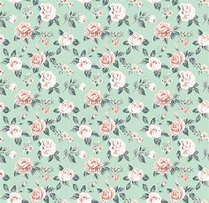 Vintage Flower Pattern Wallpaper Vintage flower pattern on ...
