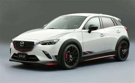 mazda cx3 mazda cx 3 racing concept revealed practical motoring
