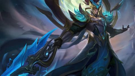 zilong revamped glorious general mobile legends