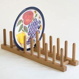 lipper  bamboo plate rack pot lid holder  lipper international  httpwwwamazoncom