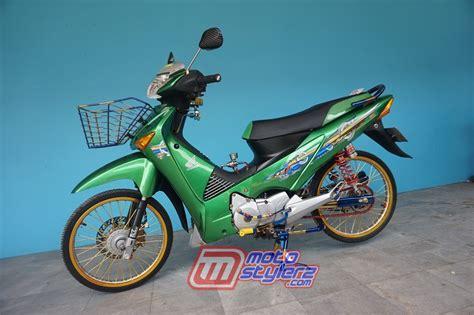 Modif Supra X 125 Th 2010 by Modifikasi Supra X125 2010 Bogor Diramu Special Modif