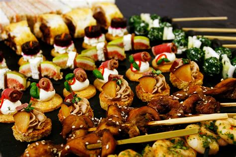 canape platters buffet catering selection c canapés