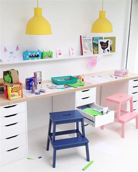 bureau pour deux bureau pour deux enfants décoration de maison contemporaine