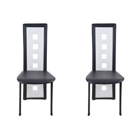 chaise noir et blanc design chaise design noir et blanc le monde de léa
