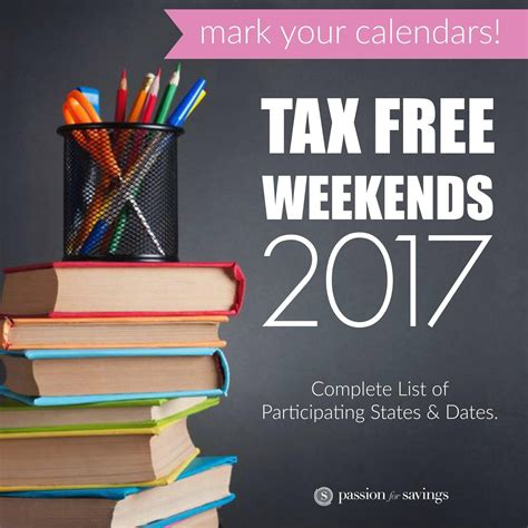 tax free weekend back to school tax free weekend 2018 dates sales