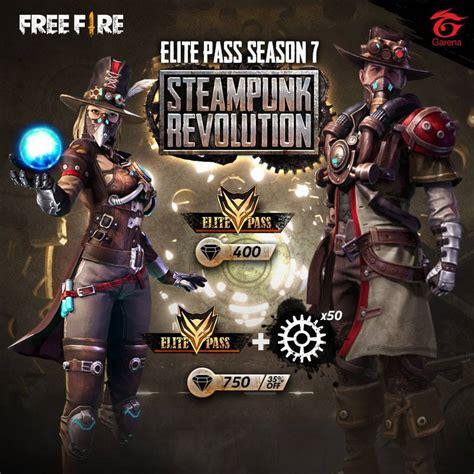 fire pass season  steampunk garena