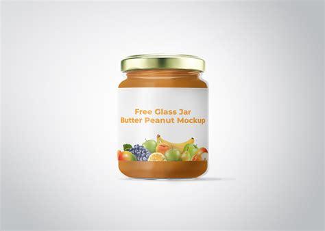 Free hand holding mug mockup. Free Glass Jar Butter Peanut Mockup   Free Mockup