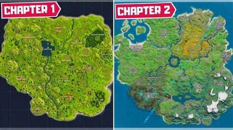 evolution   entire fortnite map chapter  season