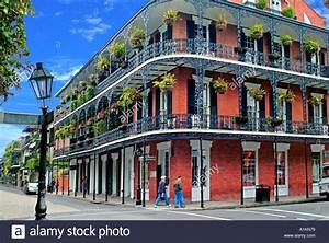Building French Quarter New Orleans Stock Photo: 3357048