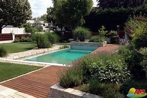 gartengestaltung mit pool bilder gartengestaltung mit With feuerstelle garten mit französischer balkon mit kleinem austritt