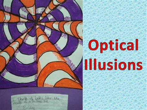 Draw Optical Illusions Templates by How To Draw Optical Illusions From Artjulz