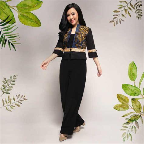 30 baju batik wanita terbaru 2019 modern formal