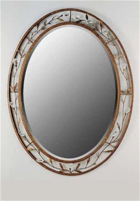 bathroom decorative mirrors  grasscloth wallpaper