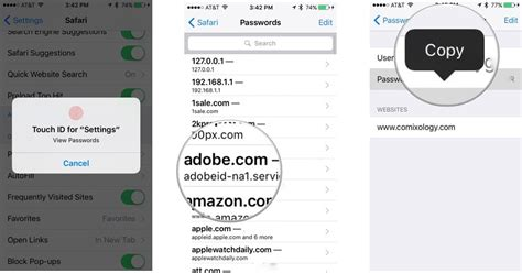 how to find passwords on iphone how to view safari s saved passwords and credit card info