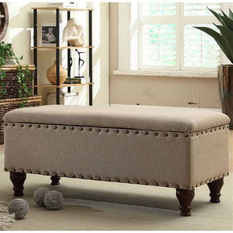 Madison Storage Bench Sitting Foot Of Bed Ottomans And