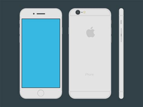 iphone on iphone 6 flat by noko17 on deviantart