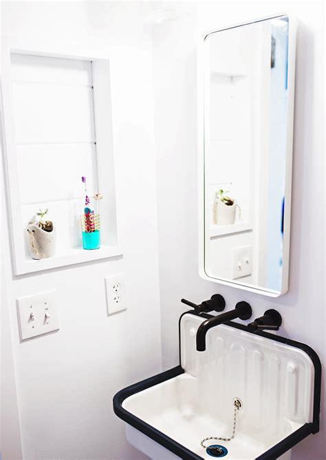 shiplap bathroom shower renovation  subtle revelry