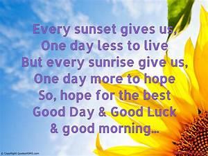 Good Luck Quotes. QuotesGram