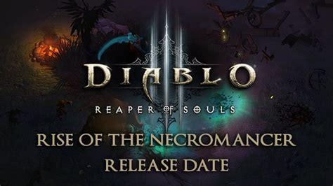 diablo  rise   necromancer dlc releasing  week