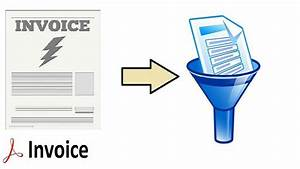 pdf invoice data extraction in simple manner With invoice data extraction