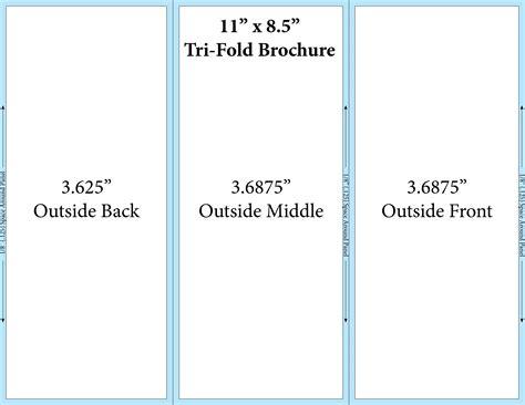 free microsoft word brochure templates tri fold tri fold brochure template theveliger