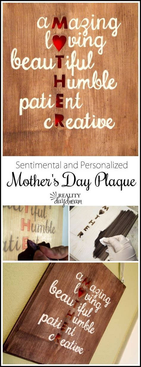 creatively thoughtful diy mothers day gifts diy