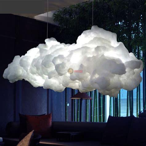 cloud ceiling light loft cloud led droplight pendant l ceiling light