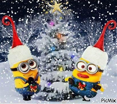 Minions Christmas Animated Minion Merry Xmas Happy