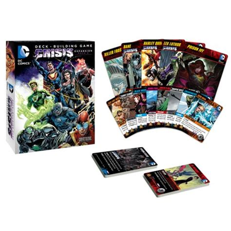 dc comics deck building crisis expansion pack 3 cryptozoic entertainment dc comics