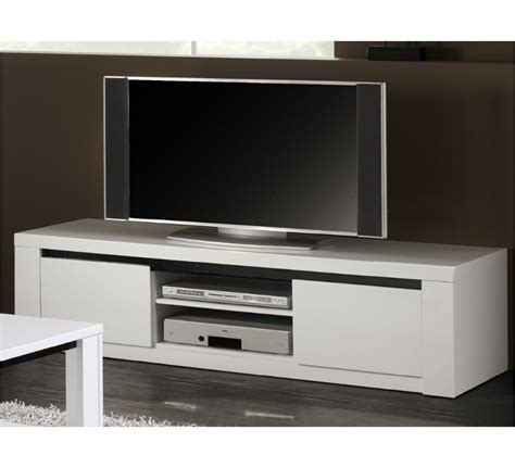 canapé en soldes conforama meuble tv laqué blanc et noir quot quot 2930