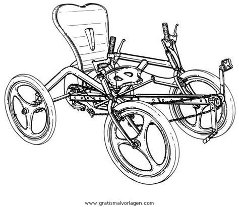 quoad quad  gratis malvorlage  motorrad