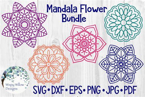 mandala flower bundle sofontsy