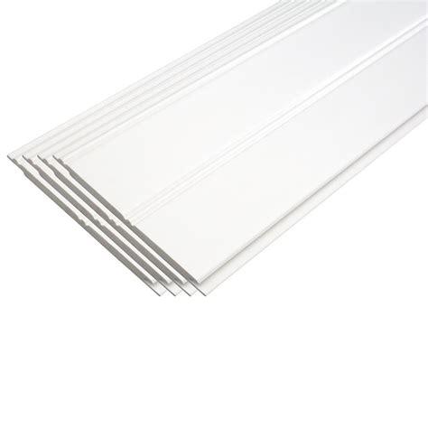 Wainscoting Planks by 4 Pk Plastibec Pvc Beadboard Planks 1 4 Quot T X 4 1 4 Quot W