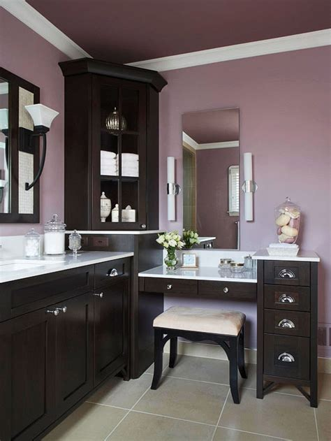 Altrosa Wandfarbe Kombinieren by 25 Most Inspiring Bathroom Vanity With Seating Area Ideas