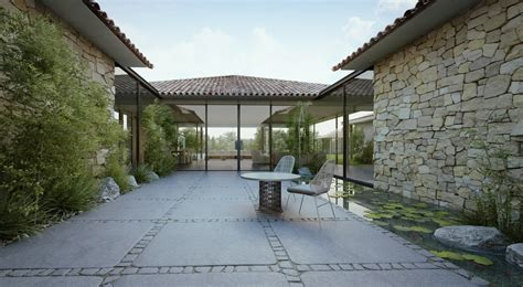 style homes with interior courtyards like interior design follow us modern cottage courtyard ideas modern garden