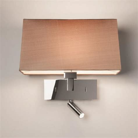 contemporary design hotel style wall light integral led