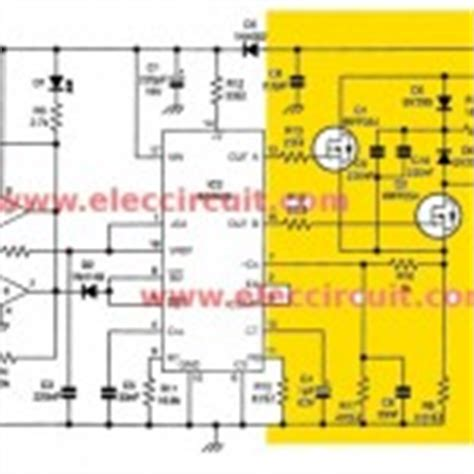 four cd4047 inverter circuit 60w 100w 12vdc to 220vac