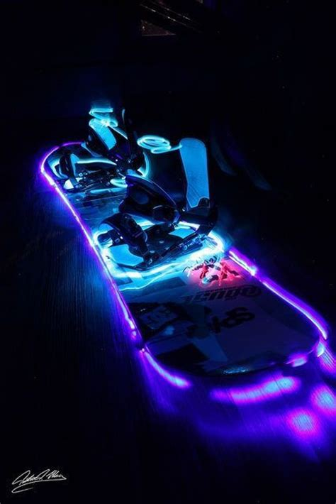 snowboard led lights vintage style awesome and this is awesome on