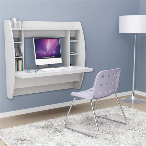 compact desk with storage stylish floating desk with storage home designing